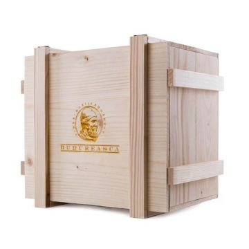 Cutie din lemn ptr. 6 sticle de vin