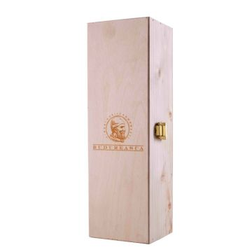Cutie lemn pentru 1 sticlă de vin