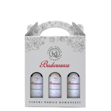 Set cadou Miniaturi Clasic Demisec 187 ml