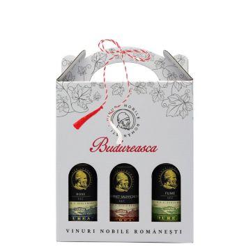 Set cadou Miniaturi Premium Sec 187 ml