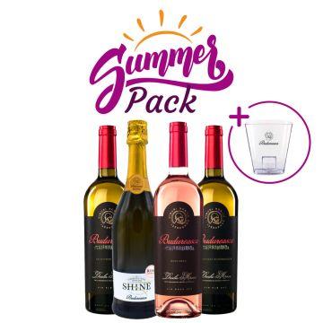 Summer Pack: 4 sticle de vin + frapieră CADOU